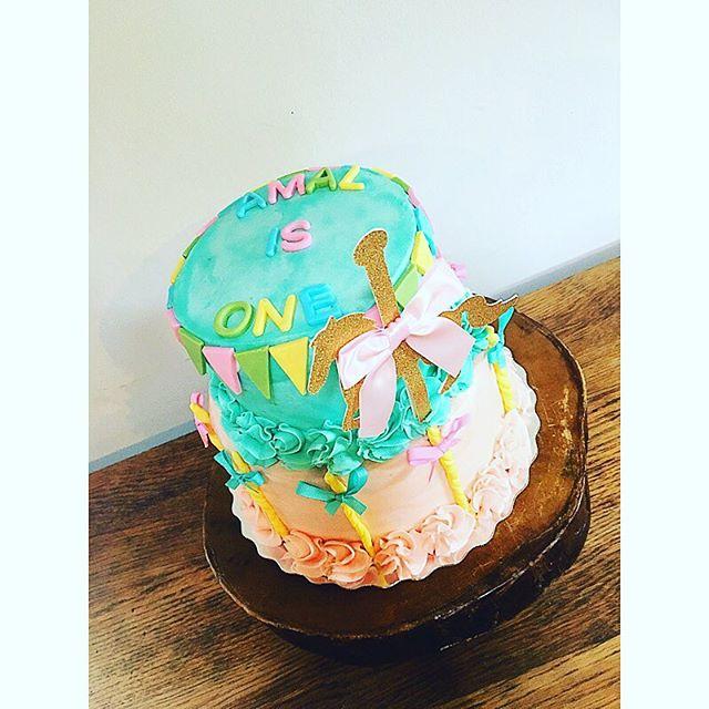 Happy 1st Birthday Amal! 🎠