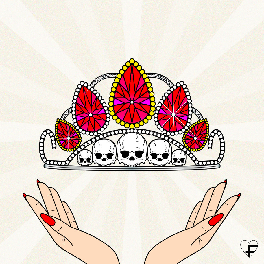 DON'T BE A STAR, BE A QUEEN LUCILE BASSO GRAPHISTE & ILLUSTRATRICE FREELANCE PARIS TOULOUSE