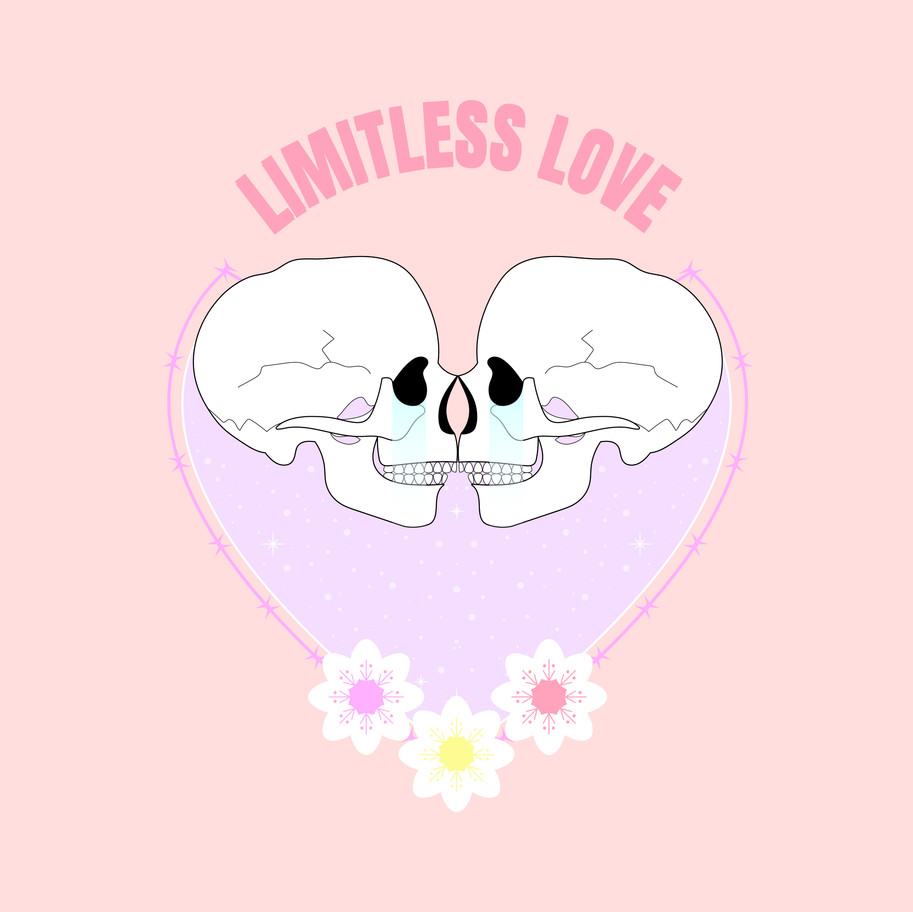 LIMITLESS LOVE LUCILE BASSO GRAPHISTE & ILLUSTRATRICE FREELANCE PARIS TOULOUSE