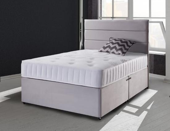 Grey Plush Bed
