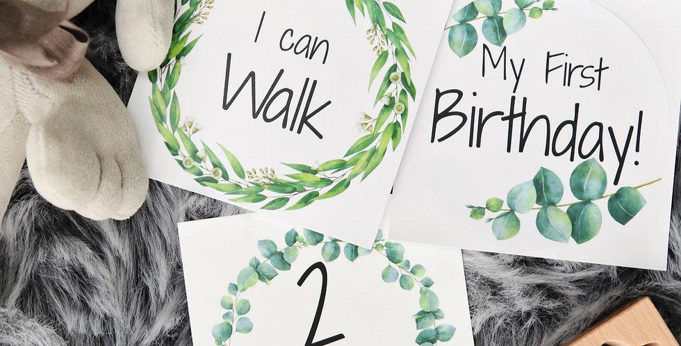FREE SAMPLE - Baby Milestone Stickers