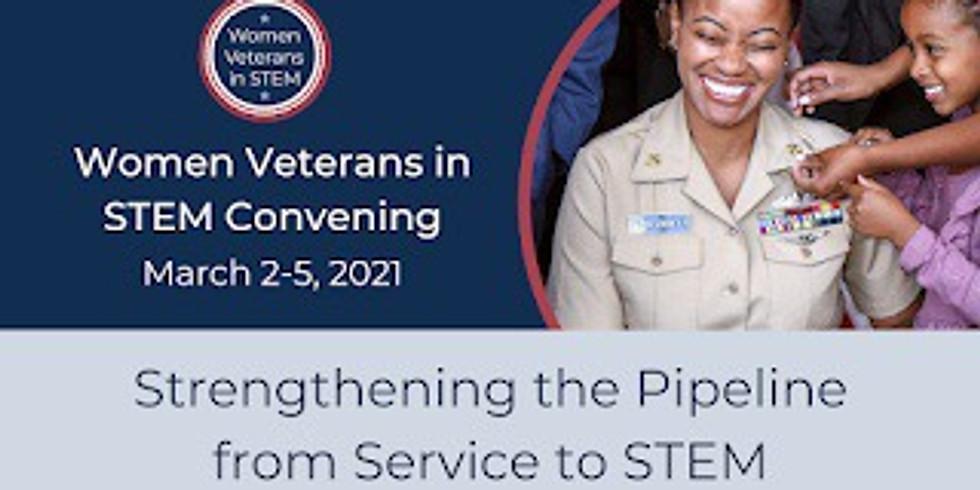 Women Veterans in STEM Convening