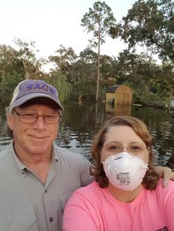 Robert & Terri Willis' back yard