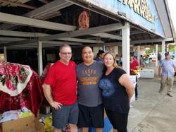 Gene Saulsman, Ricky & Janet Herrera