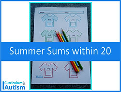 Summer Sums Addition & Subtraction within 20