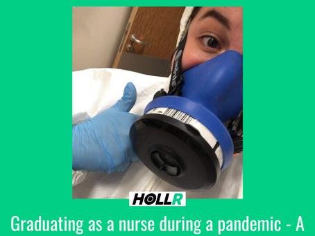 Graduating as a Nurse into a pandemic- A conversation with Nurse Courtney Wood.