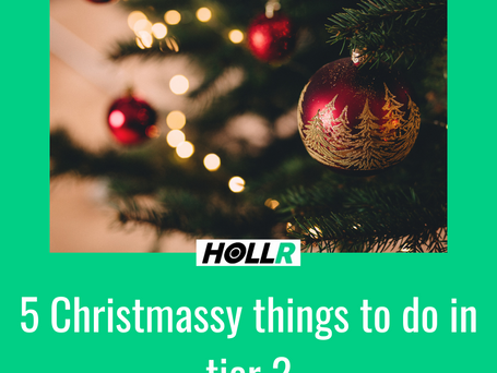 5 Christmassy things to do in tier 2