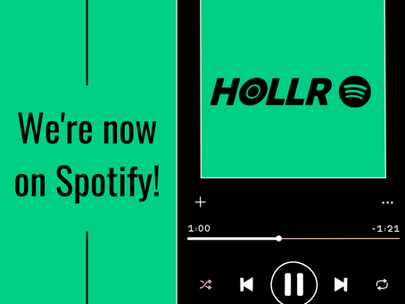 Hollr Spotify!