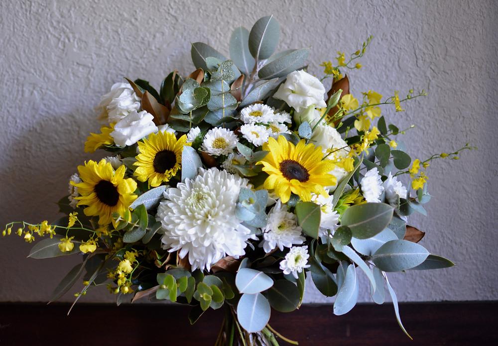 Sunflower bouquet - Daisy Hill Flowers