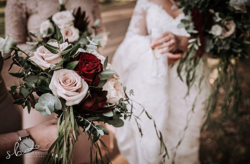 Bridesmaids bouqet