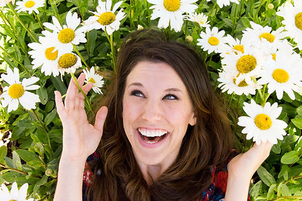 Flowers+Laughs=Awesome