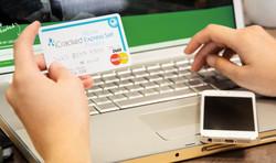 logo on trade-in debit card