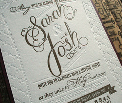 hand-lettered names