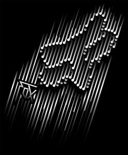 pins and needles vector artwork