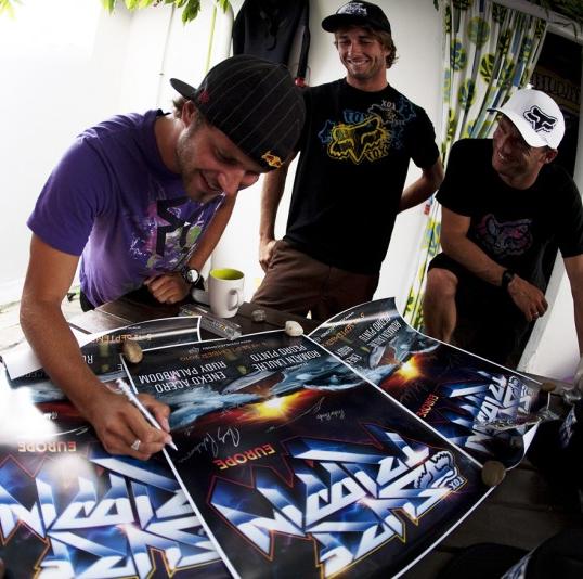 surf trippin athlete autographs