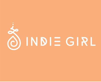 Indie Girl logo on white