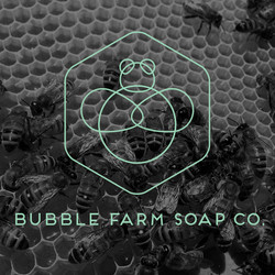 bubble farm outline logo