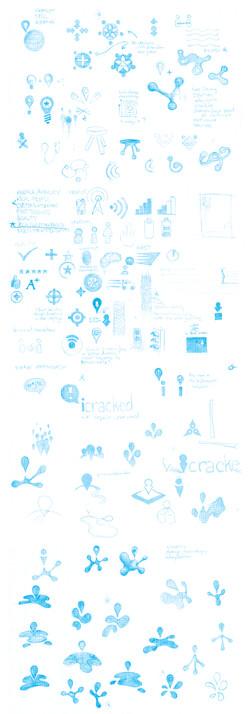original logo sketches