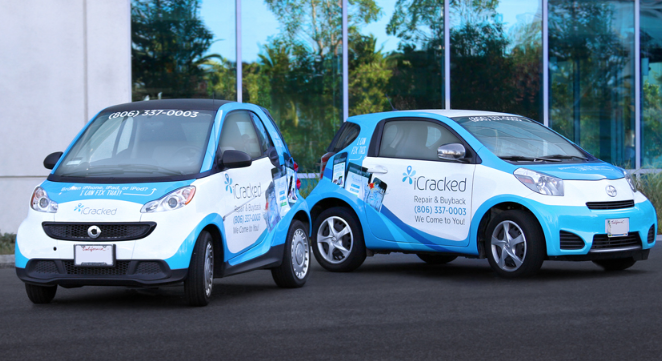 corporate fleet car wraps