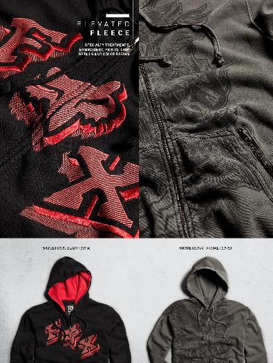 fleece details