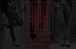 red stripes boutique logo