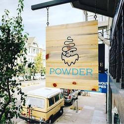 Powder Store Signage