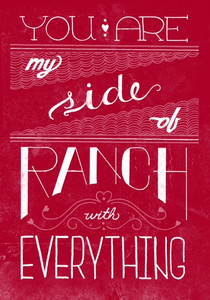 Side of Ranch card