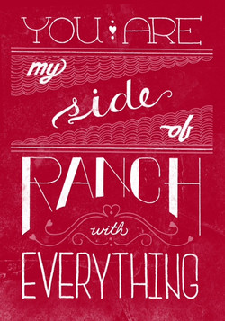 side of ranch poster