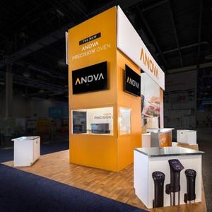 Anova tradeshow booth