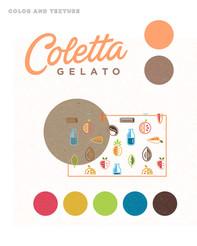 Coletta Gelato identity