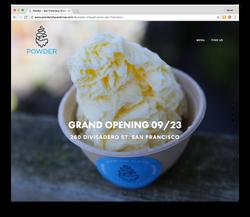 Powder Website