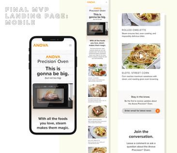 MVP page: mobile