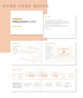 Oven user guide design