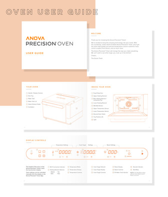 Oven user guide design
