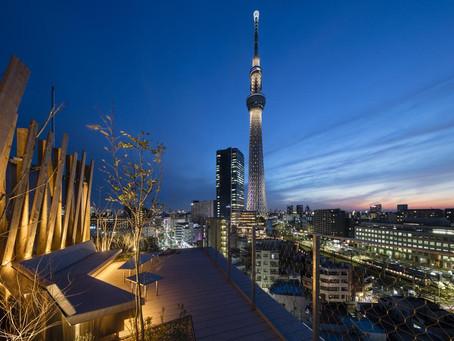 充滿負建築味的隈研吾設計旅館「ONE@Tokyo」