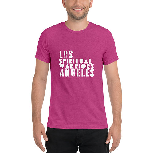 Unisex LA Spiritual Warrior Short sleeve t-shirt