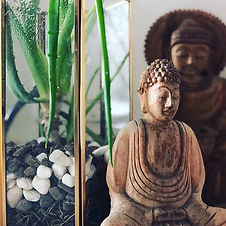 Peaceful Buddha's remind me to chill out