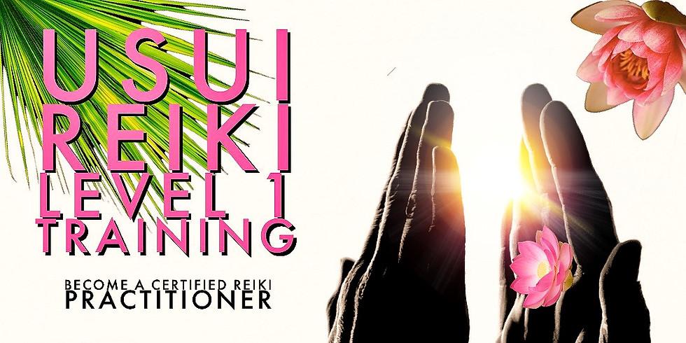 Usui Reiki Training Level 1