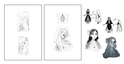 Pages 3-4 Sketch, Concepts