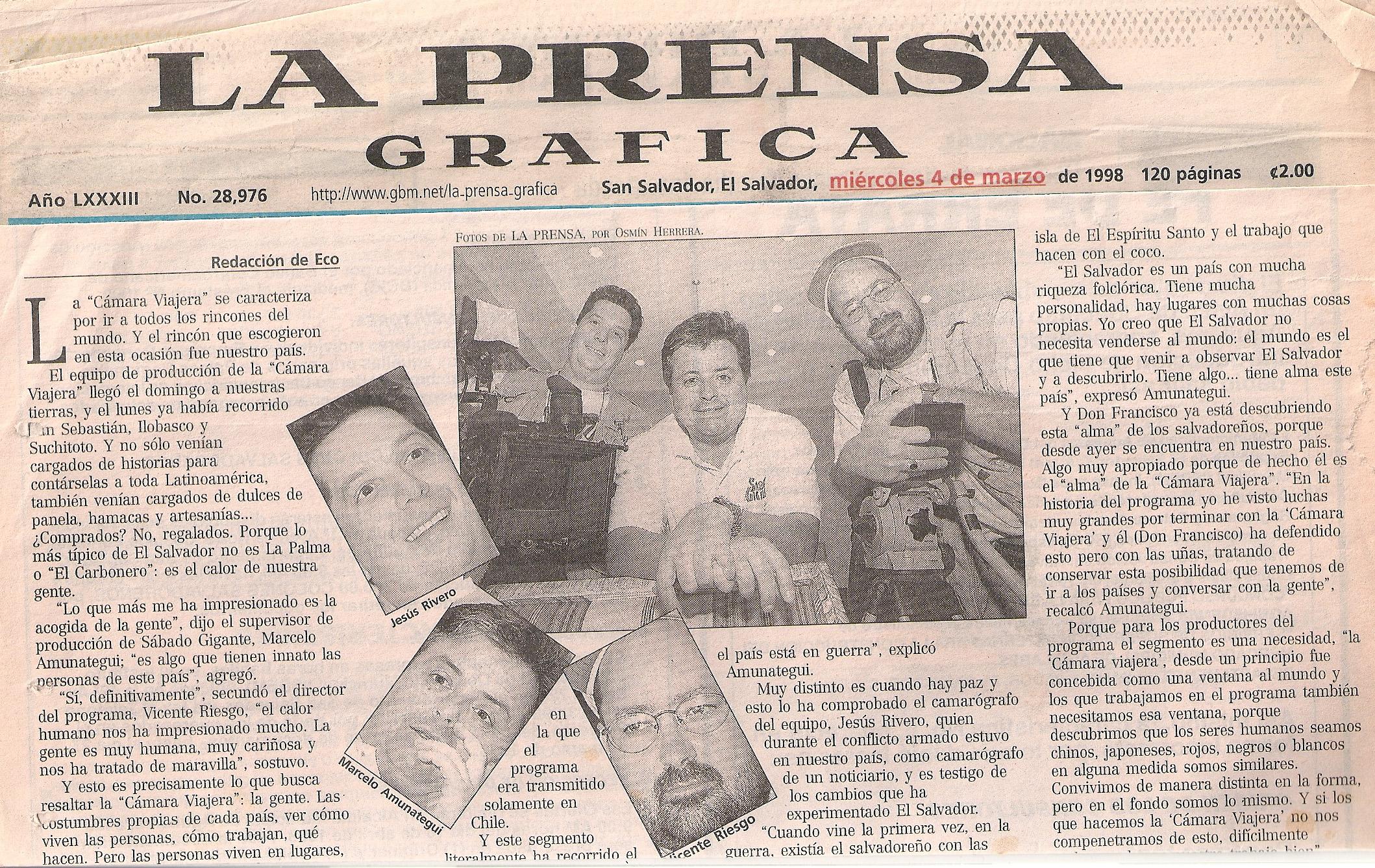 Prensa Grafica - El Salvador