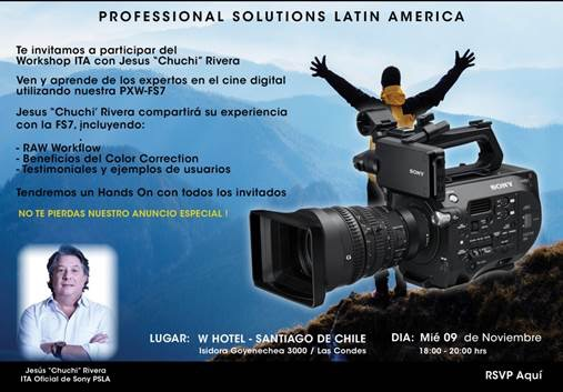 Chile Cine Digital Workshop 2016