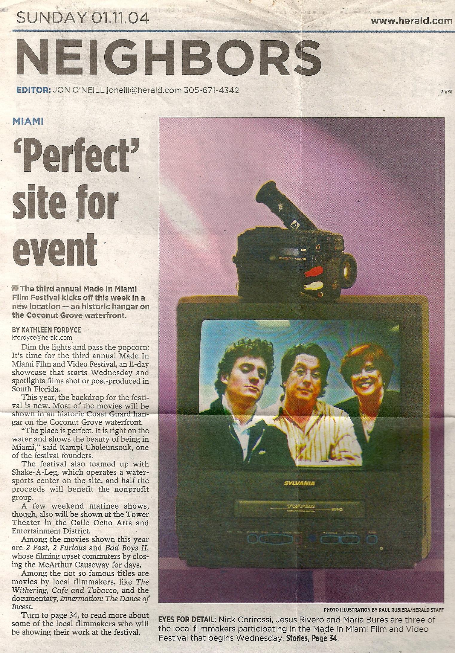 Miami Herald - Miami Film Fest