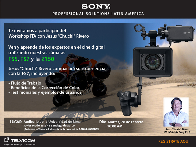LIMA-PERU-SONY FS-7 Workshop