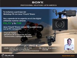 LIMA-PERU-SONY FS-7 Workshop