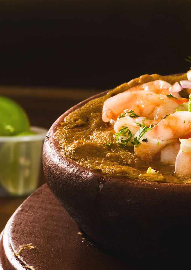 Shrimp Avocado Stew