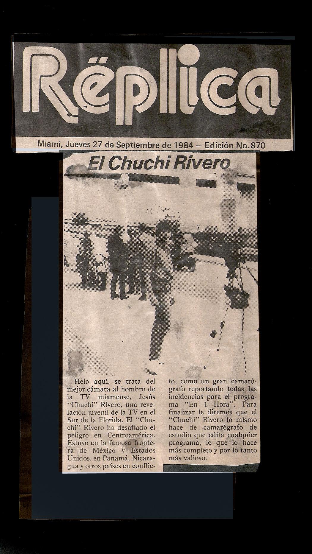 Replica Magazine - 1982