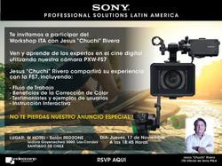 Chile Cine Digital Workshop 2016