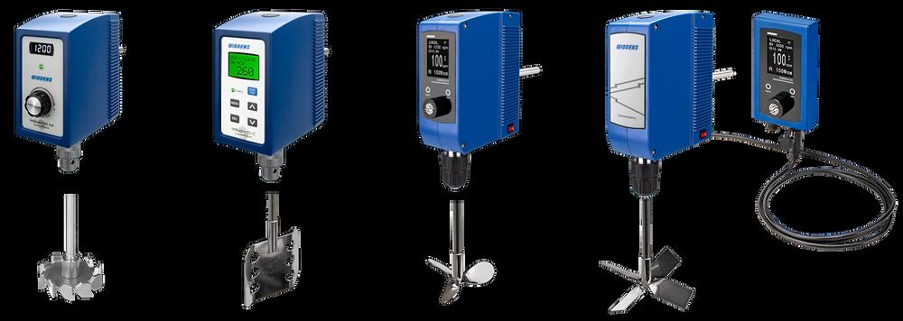 חברת Wiggens מציעה בוחשים עיליים שנותנים מענה לכל סוגי הדוגמאות ובכל הנפחים. הבוחשים של Wiggens מצטיינים במבנה מסיבי שמשלב מנועים עוצמתיים ורכיבים באיכות גבוהה שמאפשרים ערבול של כל סוגי התמיסות בנפחים של עד 100 ליטר. ל-Wiggens בוחשים עם מומנט (טורק) גבוהה לתמיסות בעלות צמיגות גבוהה ובוחשים במהירות גבוהה לערבול שקט, מהיר ויעיל. החברה מציעה גם מעמדים ייעודיים לעבודה ממושכת. כפות הערבול בנויים מנירוסטה 316L או מ-PTFE למניעת קורוזיה, לעיקור באוטוקלאב ולאורך חיים ארוך. החברה מציעה בוחשים עם בקרה אלקטרונית מלאה לשליטה על כל הפרמטרים, בוחשים עם בקרה אנלוגית לעבודה בסיסית ובוחשים עם בקרה מרוחקת לעבודה עם חומרים מסוכנים.