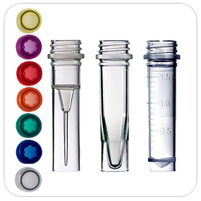 Screw Cap Microcentrifuge Tubes