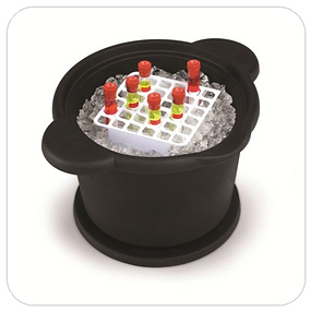 Ice Buckets and Pans
